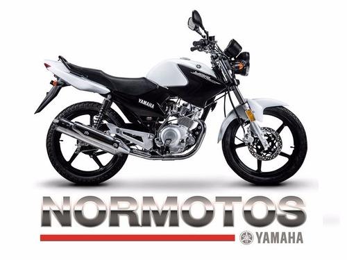 yamaha ybr125ed  2017 0 km. normotos tigre consulte stock