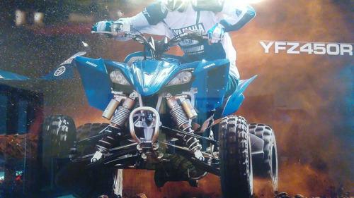 yamaha yfz450 azul y blanco 2017