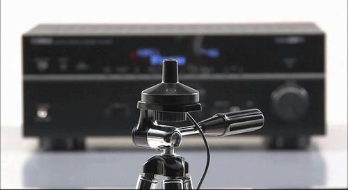 yamaha ypao microfono calibrador de parlantes teatro en casa