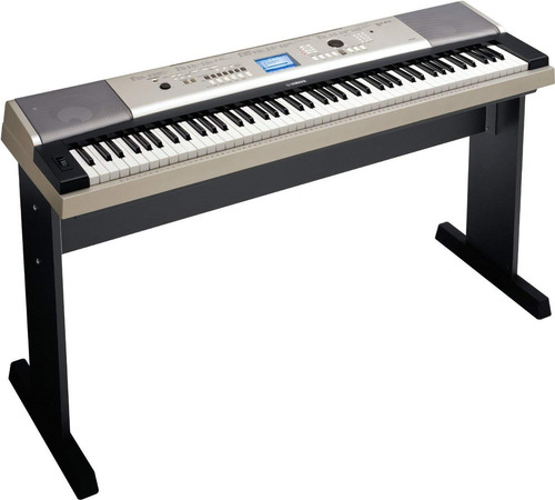 yamaha ypg-535 88-key piano de cola portátil con el soporte