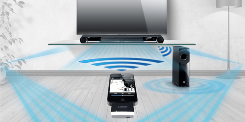 yamaha ysp-3300 barra de sonido proyector 7.1ch subwoofer