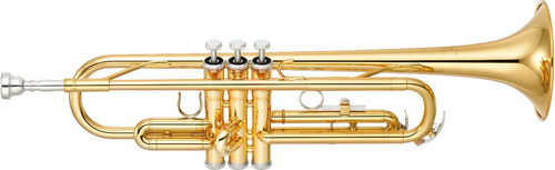 yamaha ytr-2330 trompete sib laqueado/dourado - frete grátis