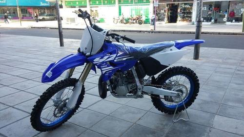 yamaha yz 250 2t azul off road
