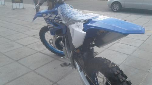 yamaha yz 250 2t azul off road recibo permutas