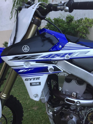 yamaha yz 450 f año 2016 igual a 0km en motoswift
