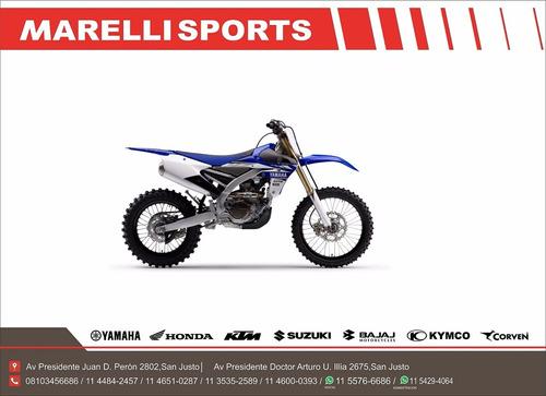yamaha yz 450 fx 2018 marellisports entrega inmediata