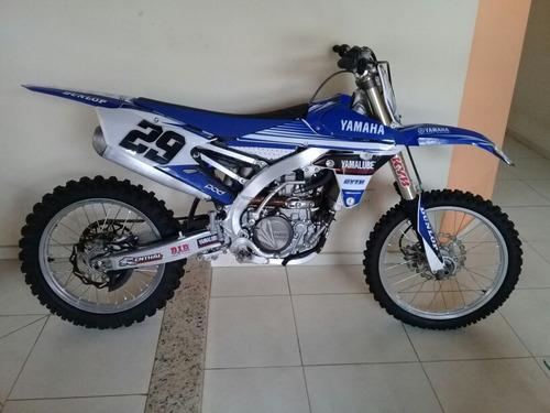 yamaha yz 450f 2014 ( semi - nova )