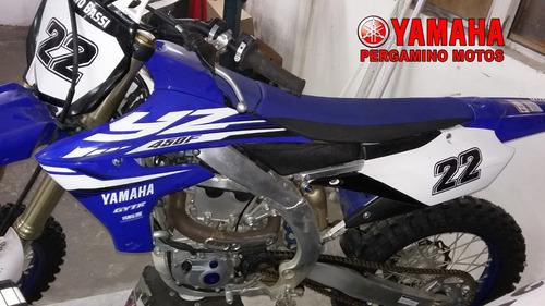 yamaha yz 450f, 2018, 5 hs. de uso.