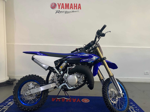 yamaha yz 65 azul 2020