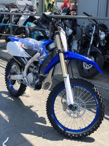 yamaha yzf 250 2020 en stock gris o azul, entrega inmediata