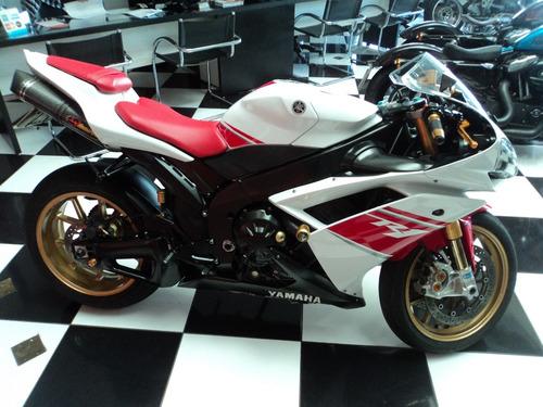 yamaha yzf r1 1000cc 2008 branca