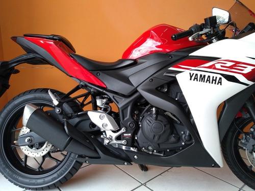 yamaha yzf r3 2016 vermelha