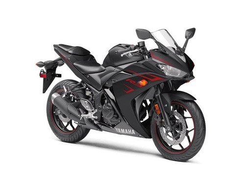 yamaha yzf-r3 2017- color negra disponible