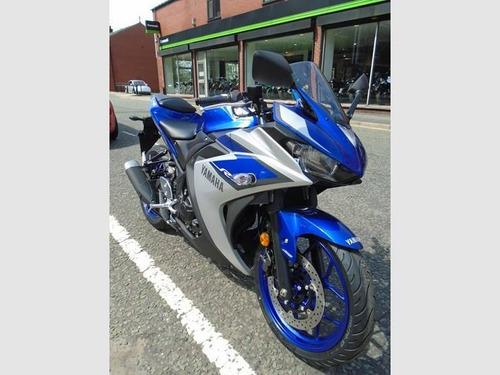 yamaha yzf r3 2017 motorcycle