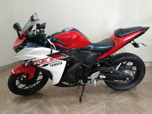 yamaha yzf r3 321 cc 2016 vermelha