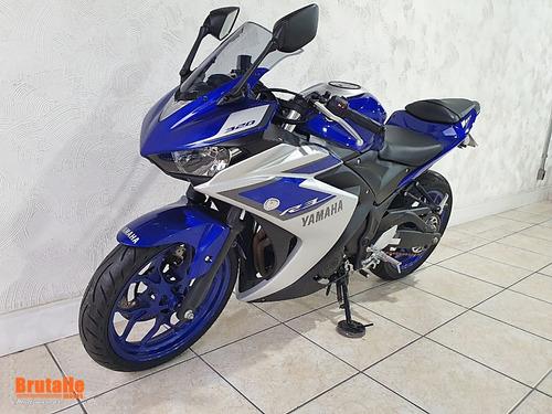 yamaha yzf r3 azul