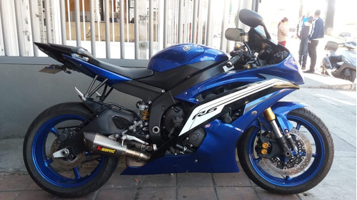 yamaha yzf r6 600 2012 unico dueño con akrapovic