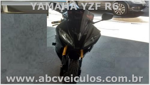 yamaha yzf r6 ano 2008 - bem conservada