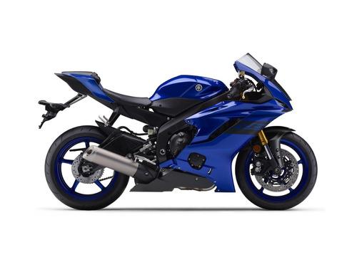 yamaha yzf r6 azul - full motos -