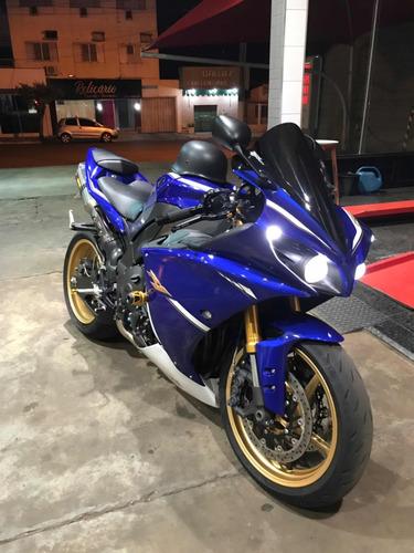 yamaha yzfr1 r1 2013 azul