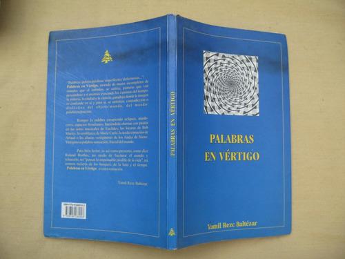 yamil rezc baltèzar, palabras en vértigo, sin editorial,