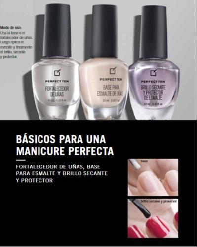 yanbal perfect ten fortalecedor de uñas !!!promoción!!