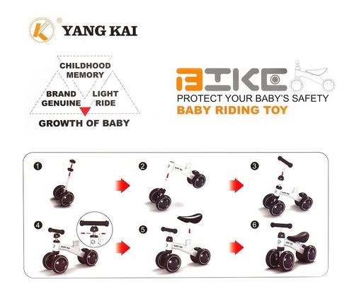 yang kai q1 + baby balance bicicleta aprender a caminar sin