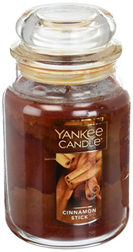 yankee candle company cinnamon stick vela grande jar