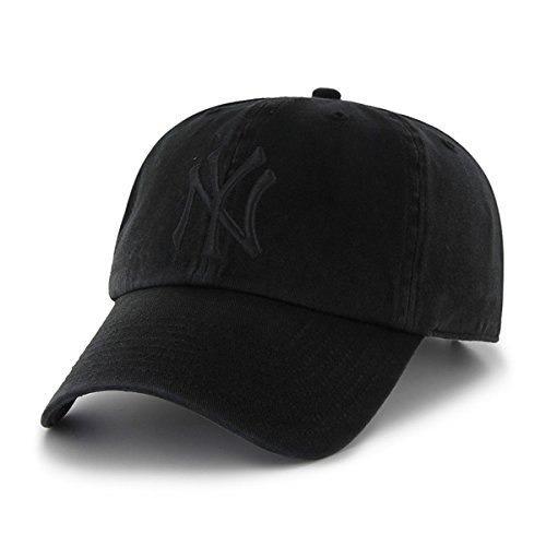 yankees de nueva york 47 marca negro sobre negro limpiar