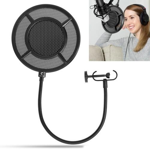yanmai 1 doble capa grabacion microfono estudio mascara