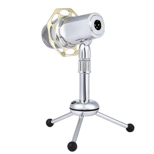 yanmai y10b escritorio con cable super-cardiode micrófono d