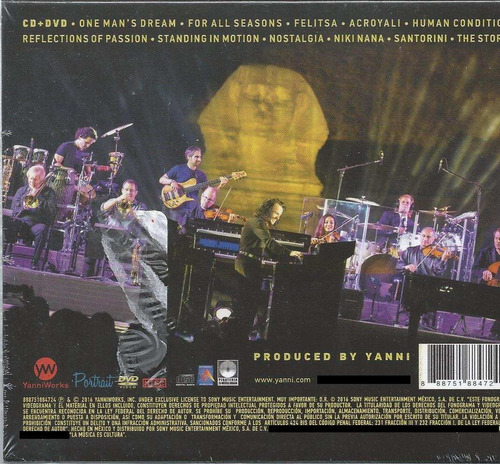 yanni the dream concert  live from t great pyramids of egypt