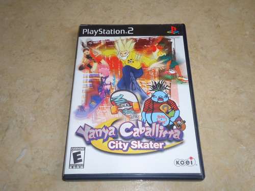 yanya caballista city skater playstation 2 ps2