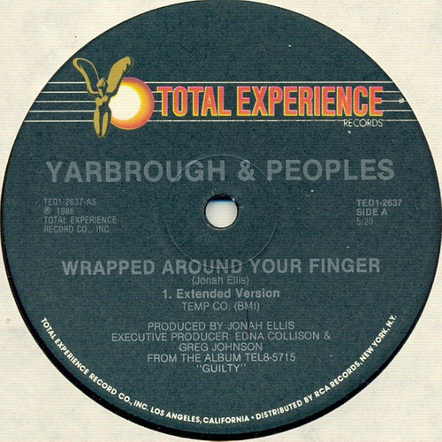yarbrough & peoples  12 single  wrapped around your finger