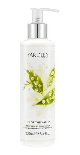 yardley londres lirio de la valle loción corporal hidratant