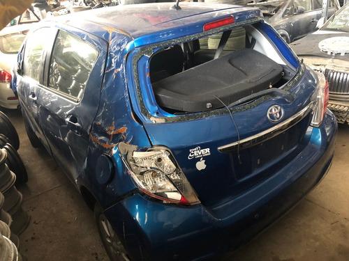 yaris hatchback 2012 por partes - s a q -