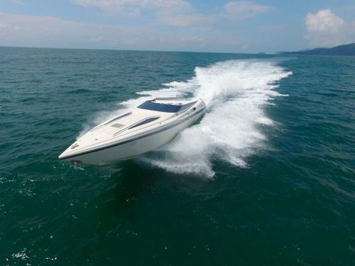 yate intermarine / azimut 46 1999 2 motores mb 760hp 400hs *