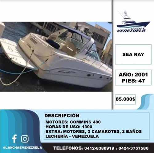yate sea ray 47 lv39