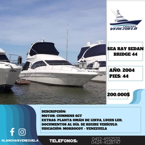 yate sea ray sedan bridge 44 lv415