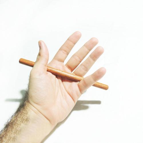 yawara-bô mini bastão de mão para treino - 18 cm