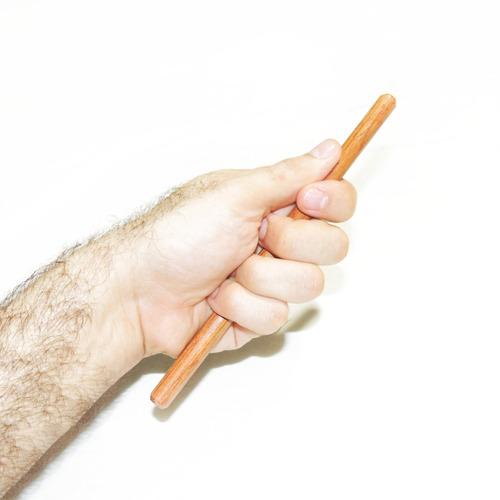 yawara-bô mini bastão de mão para treino - 21 cm