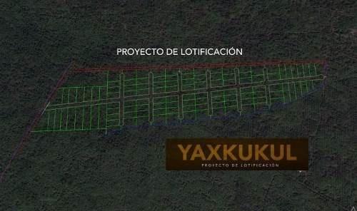 yaxkukul puerta norte lotes residenciales urbanizados desde $123.400