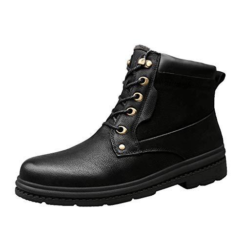 Yaxuan ZapatosMartín Invierno S M Hombres Botas JTFKl31c