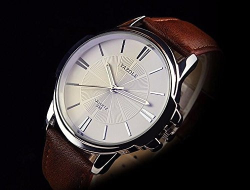 yazole 332 hombres relojes reloj de cuarzo de lujo famoso re