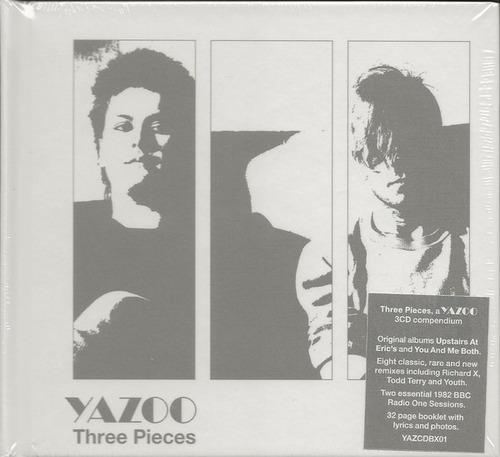 yazoo - three pieces (box 3cd)