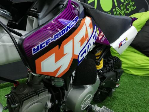ycf  88cc star pit bike enduro cross supermotard  srm