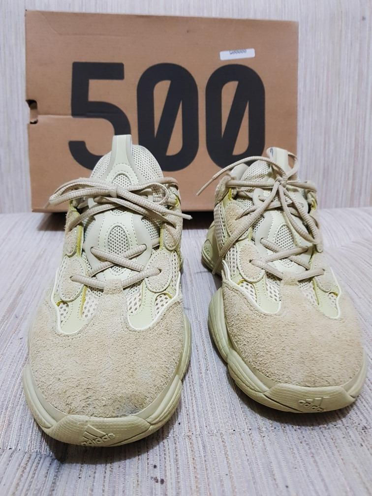 buy popular 978e3 cfb93 Yeezy 500 Super Moon Yeelow //// Size 41