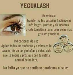 yegualash crece pestañas y cejas yeguada la  reserva