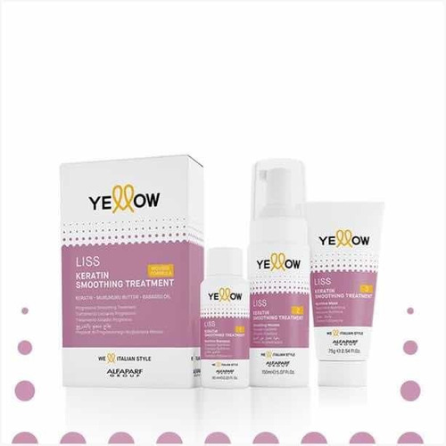 yellow liss shampoo y acondicionador