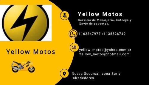yellow motos